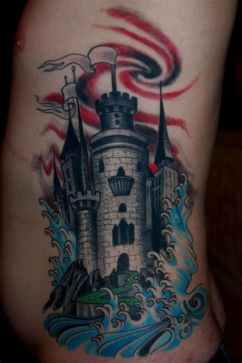 castle tattoo design 17 best images about tattoos on ribs awesome