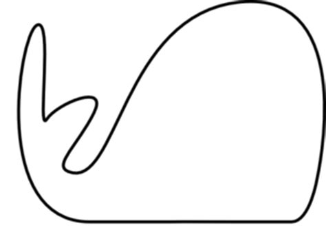 whale template preschool whale outline clipart best
