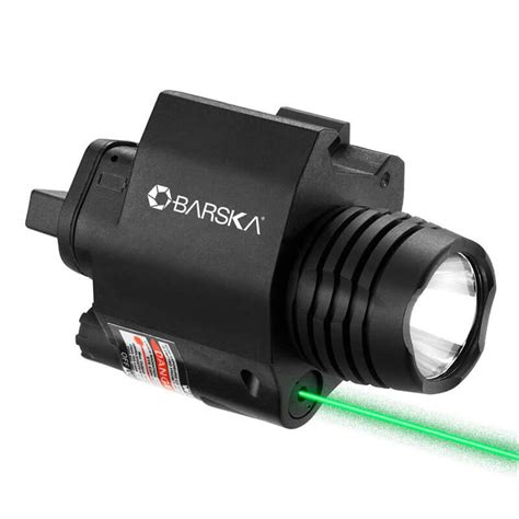 ar 15 laser light green laser with 200 lumen flashlight by barska