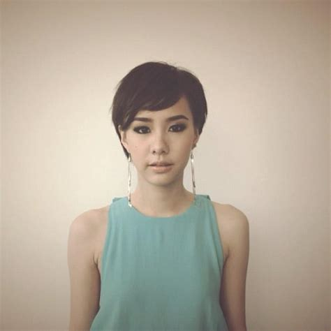pixie cut strong jawline 1000 images about short asian hair