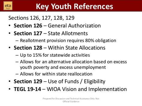 Section 127 Tuition Reimbursement wioa youth into the weeds region 1