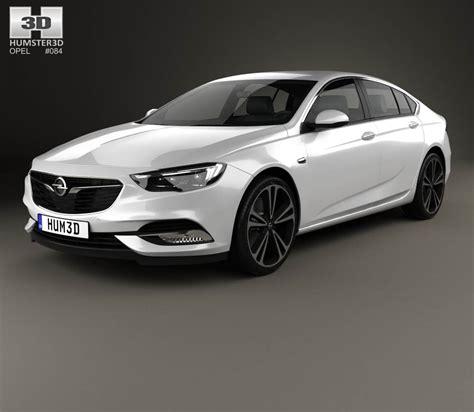 opel insignia 2017 white opel insignia grand sport 2017 3d model hum3d