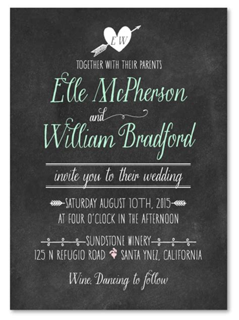 order wedding invitations chalk wedding invitations on 100 recycled paper simple