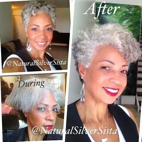am african with salt and pepper hair how can i get platinum 259 best older african american women hairstyles images on