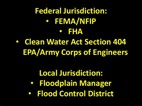 section 404 of the clean water act final presentation alluvial fan floodplains maxcomp