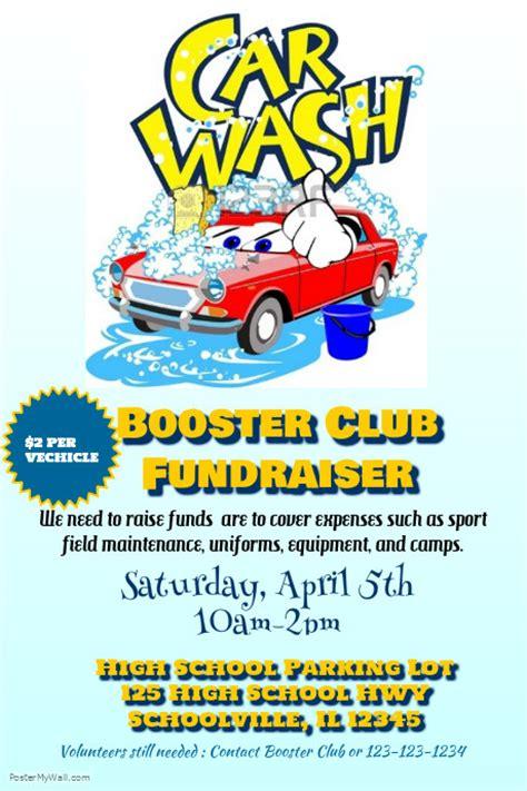 Car Wash Fundraiser Template
