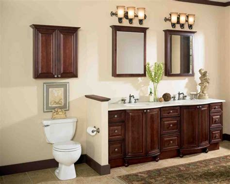 Wooden Bathroom Furniture Cabinets Cherry Wood Bathroom Cabinets Home Furniture Design