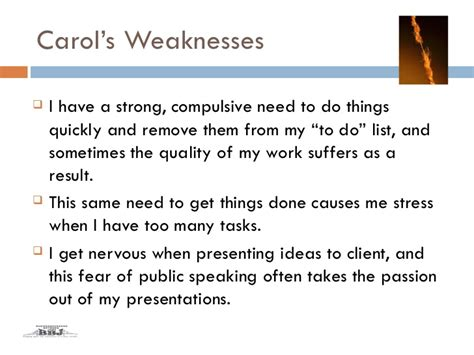 list of employee strengths and weaknesses exles