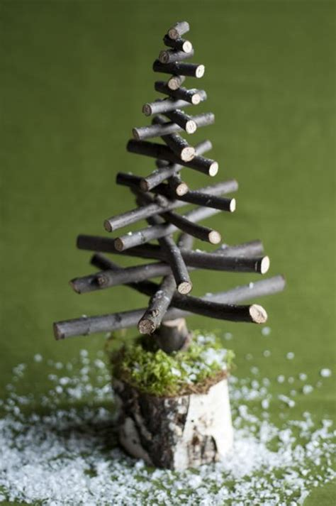handmade twig christmas tree christmas pinterest