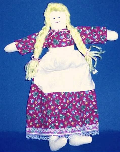 rag doll history colonial and early american crafts