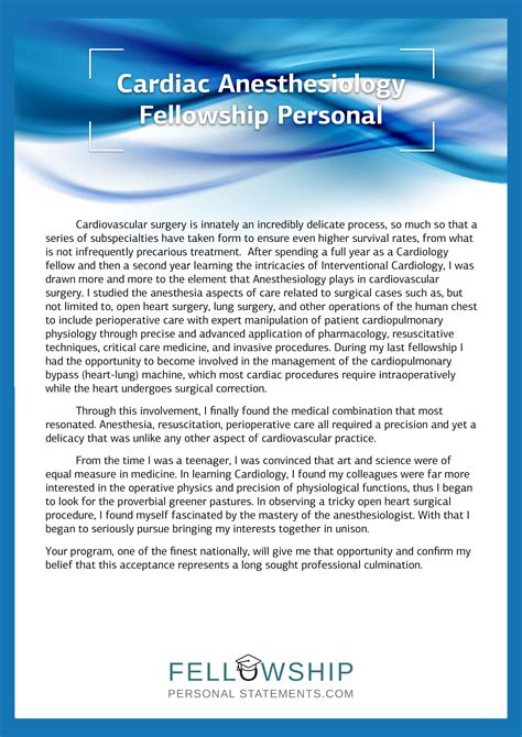 Research Letter Cardiology personal statement for cardiology fellowship sle