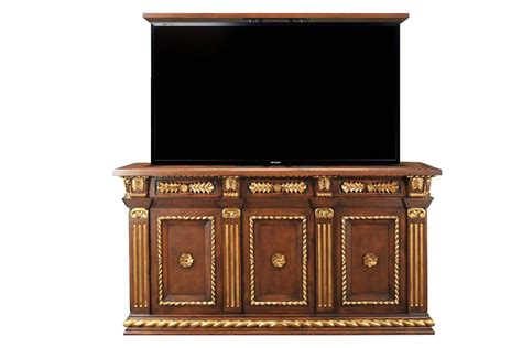 motorized tv lift cabinet napoleon gold motorized tv lift cabinet cabinet tronix
