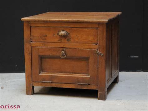 comodino legno comodino legno di teak l2c10 orissa