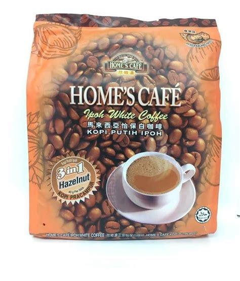 White Coffee Hazelnut home s cafe 3 in 1 white coffee hazelnut 600g from buy