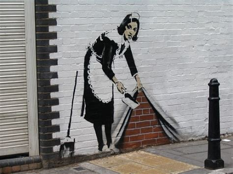 Banksy S Top 10 Most Creative And Controversial Nyc Works - banksy revealed graffiti artist paints first ever self