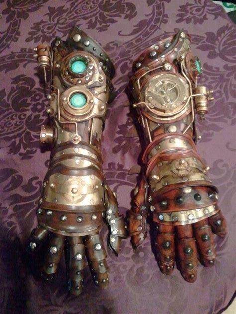 steampunk gloves similar   seid gauntlets