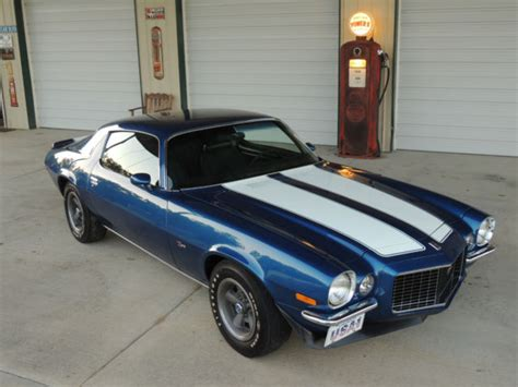 70 z28 camaro 1970 70 z28 camaro 4 speed m22 410 posi blue rs