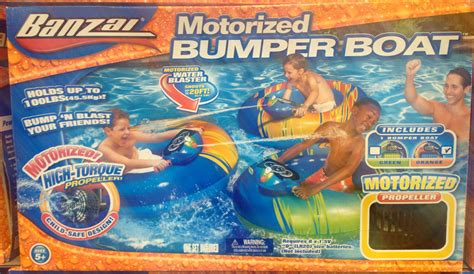 banzai motorized bumper boat instructions new inflatable banzai 40 quot x 36 quot water motorized bumper