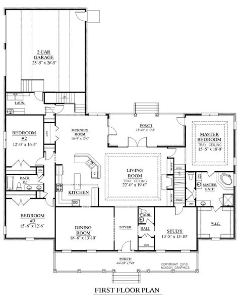house plans with garage in back southern heritage home designs house plan 3027 a the