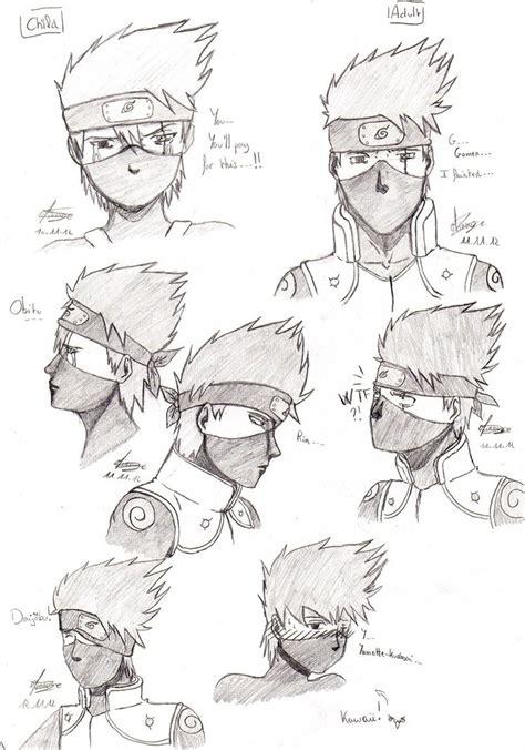 o sensei bobblehead kakashi sketch s by minouze on deviantart