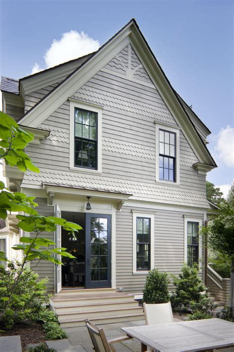 is this paint a gray or a beige ideas of siding trim and door color thank you