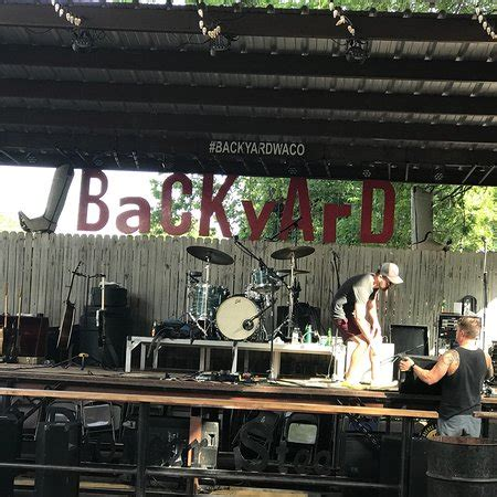 the backyard bar stage and grill waco restaurant
