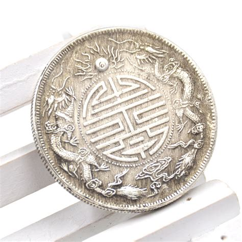 feng shui coins chinese traditional feng shui double dragons lucky coin