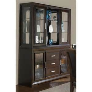 dining room hutch with glass doors brentwood contemporary china cabinet with etched glass