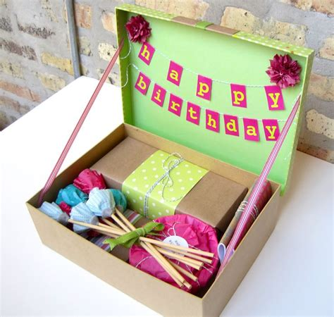 box ideas best 25 birthday box ideas on