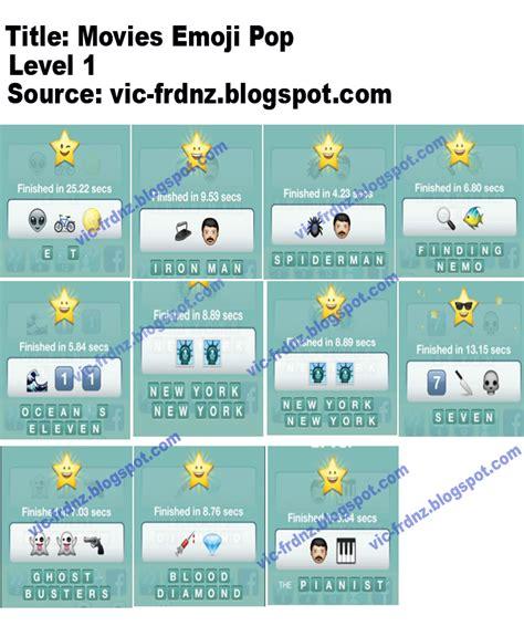 film mit 4 buchstaben emoji quiz movies emoji pop answers frdnz