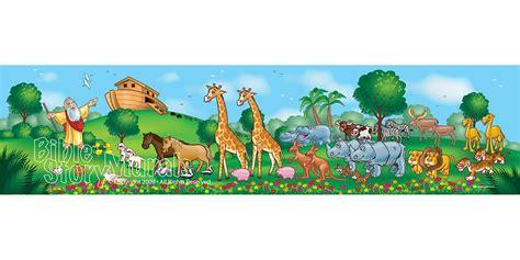 Childrens Wall Murals specialty murals bible story murals