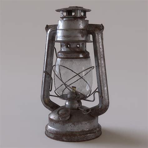 alte laterne 3d lantern