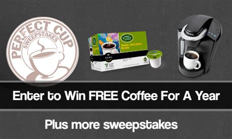 Green Mountain Sweepstakes - sweepstakes a year of free k cups from green mountain coffee southern savers