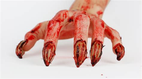 werewolf claws tutorial zombie werewolf nails sfx makeup tutorial youtube