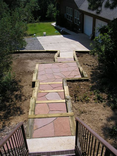 Design Ideas For Flagstone Walkways Durango Colorado Landscaping Companies Gardenhart Landscaping And Design Tips