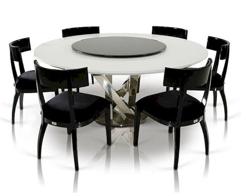 Kitchen Table With Lazy Susan Dining Set W Crocodile Lacquered Table W Lazy Susan 44d833 180 Set