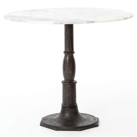 alondra classic cast iron marble dining table