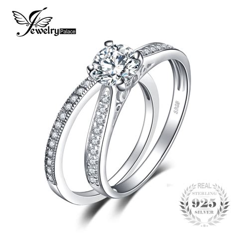 Ring Verlobung by Aliexpress Buy Jewelrypalace 1 3ct Aaa Cz