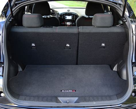 juke nismo trunk 2013 nissan juke nismo review test drive