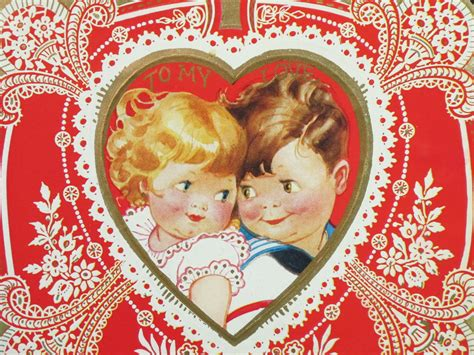 vintage valentines sending all my on vintage valentines