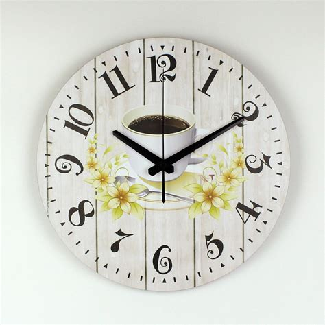 designer kitchen wall clocks modern kitchen wall clock creative design warranty 3 years the coffee decorative wall clock more