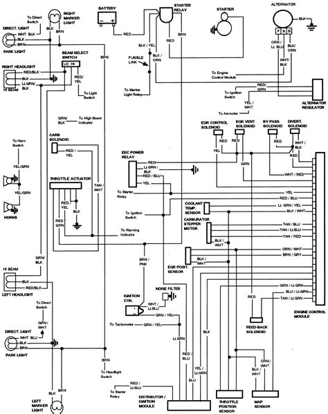 wiring diagram for 1985 ford f150 ford truck enthusiasts