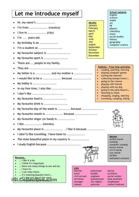 printable questionnaire about yourself best 25 introduction activities ideas on pinterest