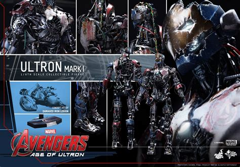 hot toys ultron hot toys ultron mark i figure mms 292 up for order