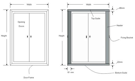 Typical Exterior Door Dimensions Standard Door Size Glass Doors Interior Closet The Home Depot Standard