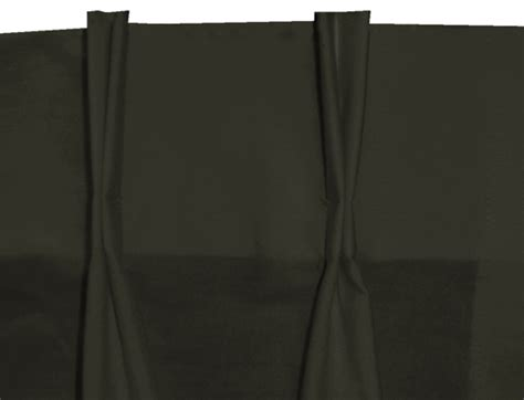 Black Pinch Pleat Curtains Solid Black Pinch Pleat Cafe Tier Curtains