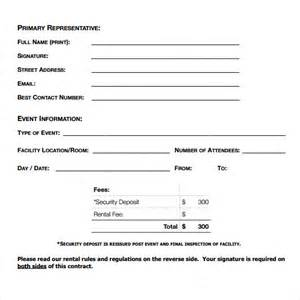 Blank Rental Agreement Template blank rental agreement 7 free samples examples amp formats