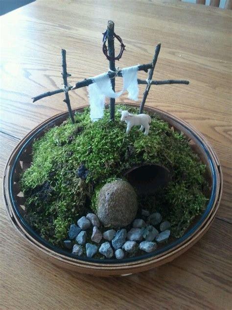 easter garden craft 17 best images about miniature easter garden on