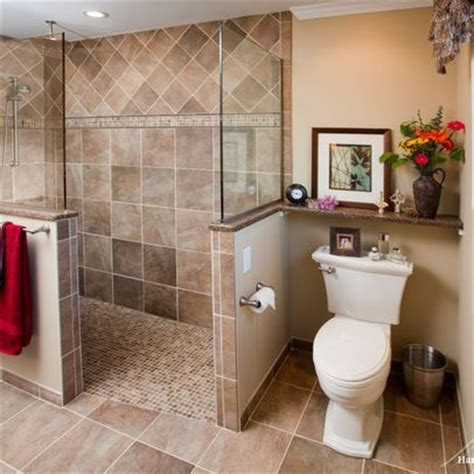 Ideas For Doorless Shower Designs Doorless Shower Design Pictures Remodel Decor And Ideas Page 16 Bathroom Pinterest