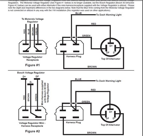 nippondenso external voltage regulator wiring diagram